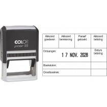Boekhoudstempel 2155 - Colop printer 55