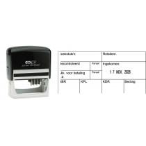 Boekhoudstempel 2156 - Colop printer 60