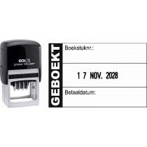 Boekhoudstempel 2157 - Colop printer 53