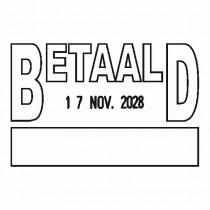 Boekhoudstempel 2159 - Colop printer 53
