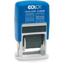 Colop Mini-Info S 120/W