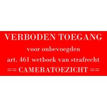 Kunststof naambord - Gegraveerd - 120 x 50 x 1,5 mm