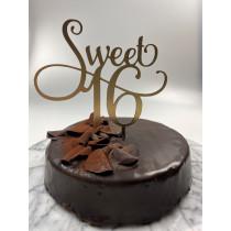 sweet 16 caketopper
