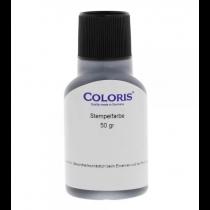 Coloris 200 PR Universele stempelinkt Zwart 50 cc