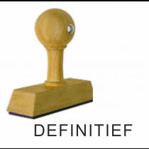 Houten handstempel DEFINITIEF