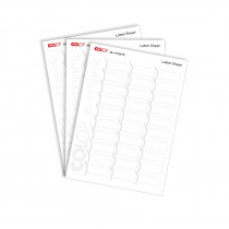 labelsheets e-mark