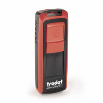 Trodat Pocket printy 9512 rood/zwart montuur