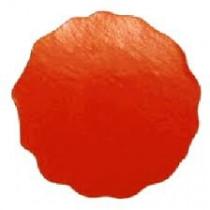 Preegetiketten - roodlak ø 46 mm - 100 stuks