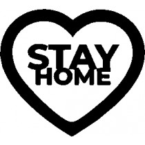 stay home stempel