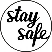 STAY SAFE STEMPEL