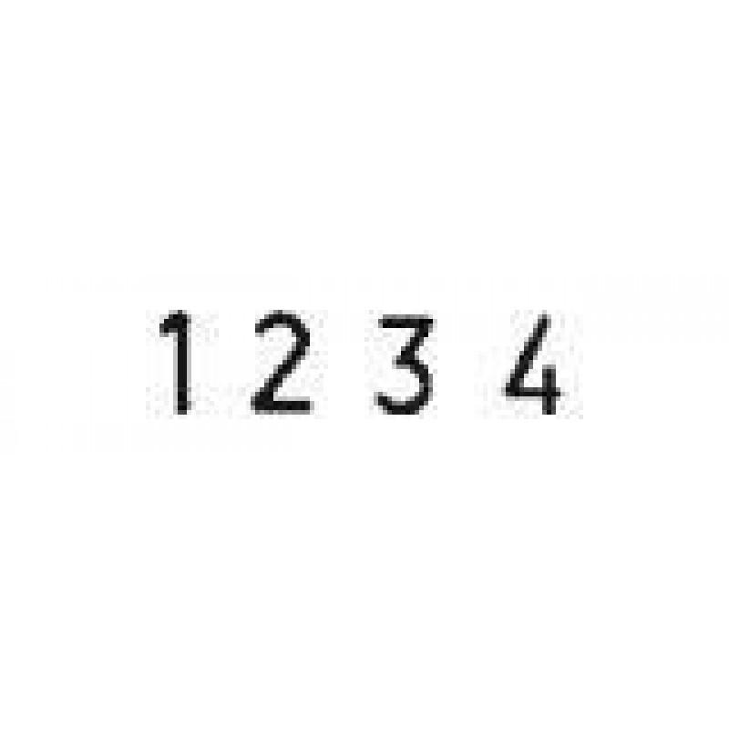 Colop Cijferbandstempel 03004