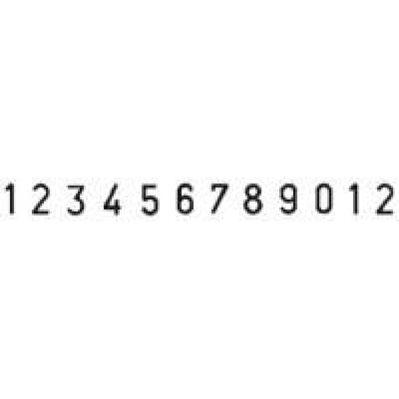 Colop Cijferbandstempel 04012