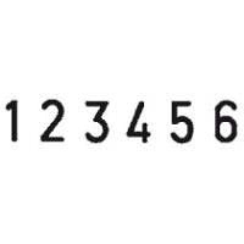 Colop Cijferbandstempel 05006
