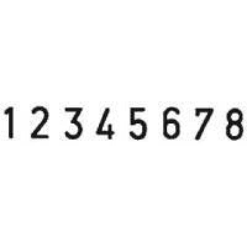 Colop Cijferbandstempel 05008