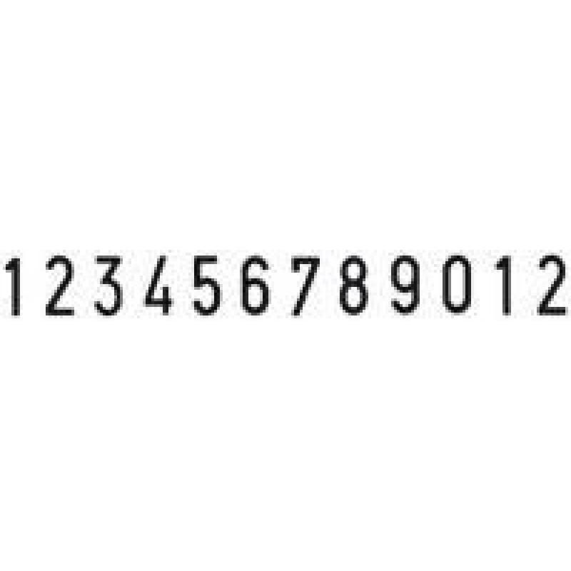 Colop Cijferbandstempel 09012
