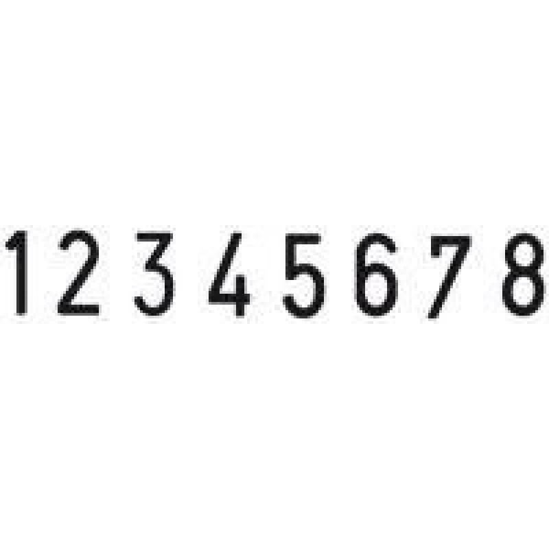Colop Cijferbandstempel 12008