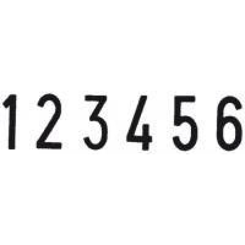 Colop Cijferbandstempel 15006