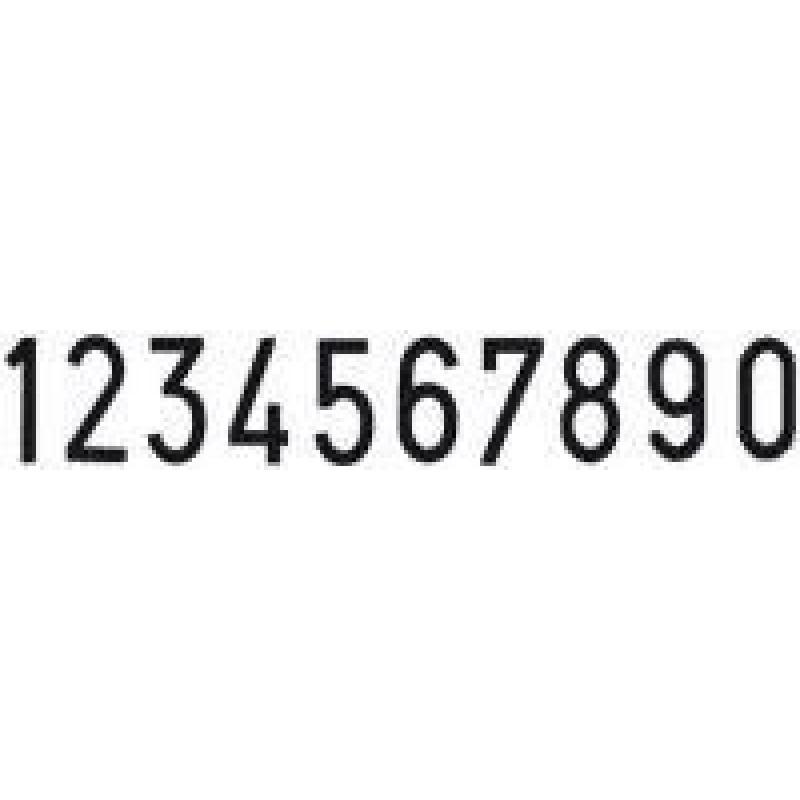 Colop Cijferbandstempel 18010