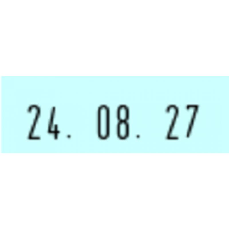 Trodat Prof. 4.0 5440 (49x28 mm) | datum in cijfers met tekst